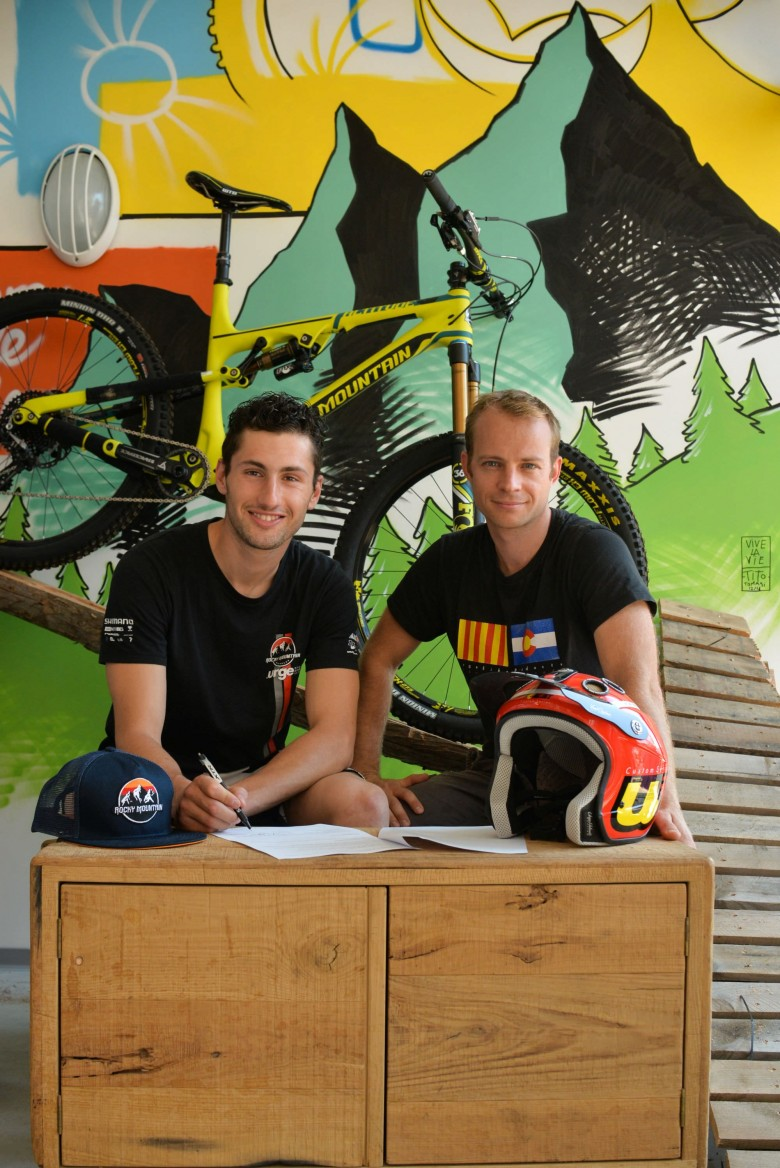 Now signed for Rocky Mountain until the end of the 2017 season, Florian is switching from