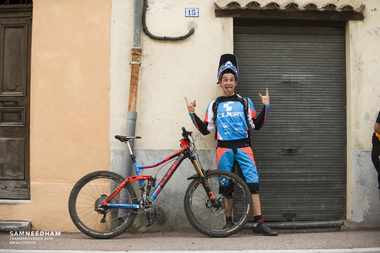 Nico Lau - It's really exciting to start here again. my first goal is to make it to the finish without crashing or breaking my bike. other than that, ill see if my body survives pedalling for a whole week. for me, the event is also training. racing blind in alpine terrain helps me building up speed for the next ews races