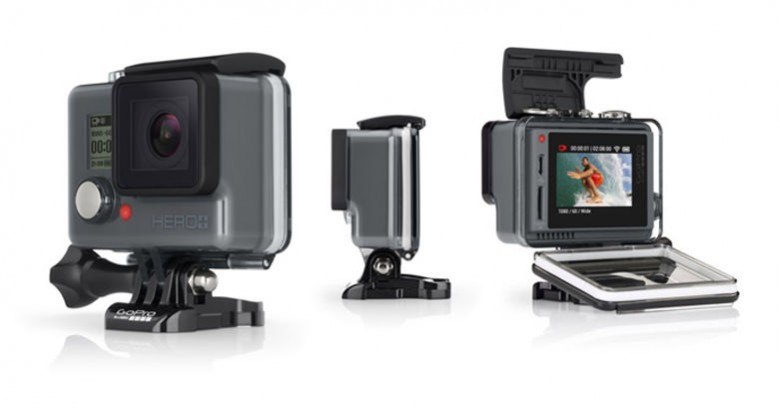New HERO+ LCD makes it easier than ever to GoPro with Built-In Touch Display, In-Camera Video Trimming and Integrated Wi-Fi.