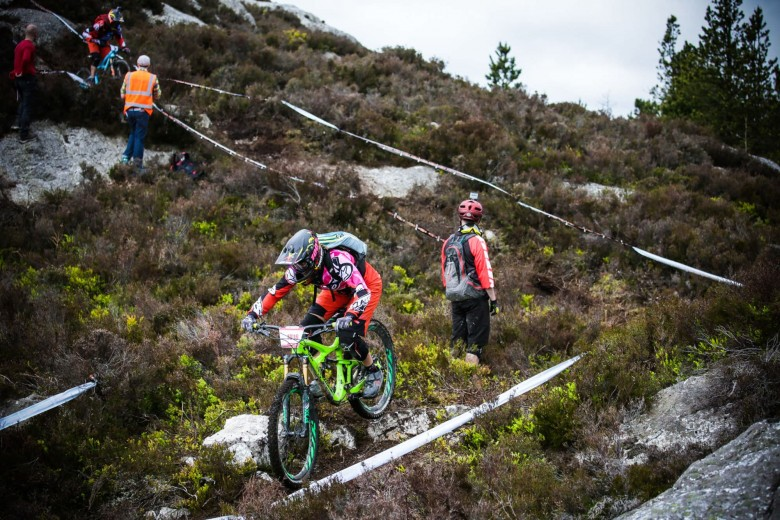 The town of Wicklow was home to the second round of the Enduro World Series in Ireland