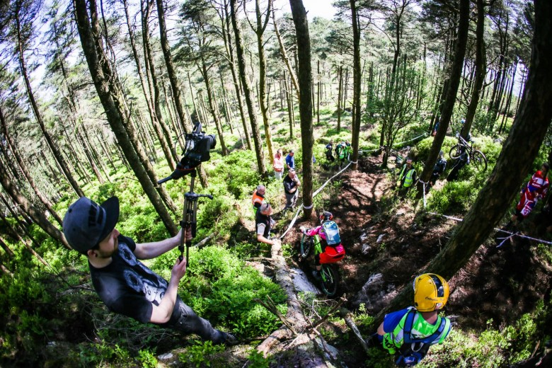 """This race had something really special and in this case the difference was the people, the organizers, the staff, the public, the Irish leg of the EWS was a truly fantastic event."""