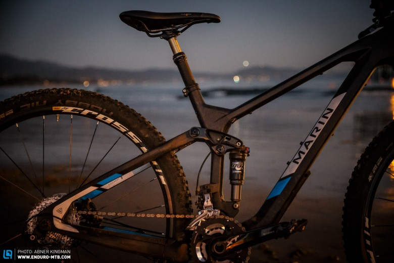 The short seatpost means you can barely raise or lower the saddle. Short or long-legged riders should definitely try this bike before buying it.