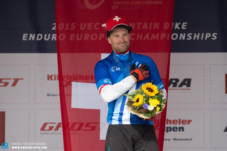 Rene Wildhaber would have come second overall if he were not racing on a Masters Licence