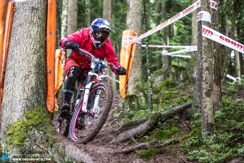Michal Prokop has a tough day, a transponder error would see him seeded with slower riders for the final stage