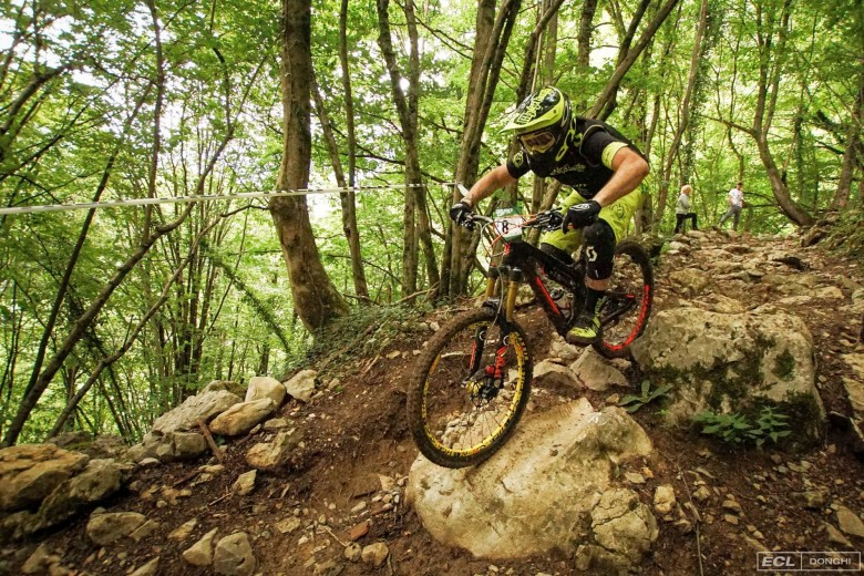 Technically demanding terrain awaited the competitors of the Enduro Cup in Brembilla.
