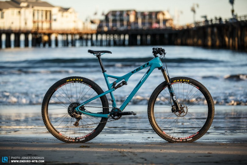 Back Issue | The Yeti ASRc Trailbike in Review | ENDURO