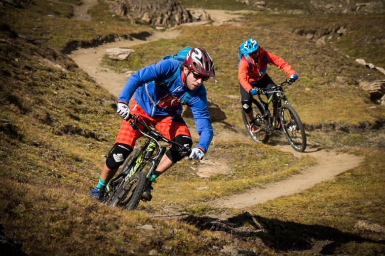 You don't need fancy, expensive equipment to make a professional mountain biking film...