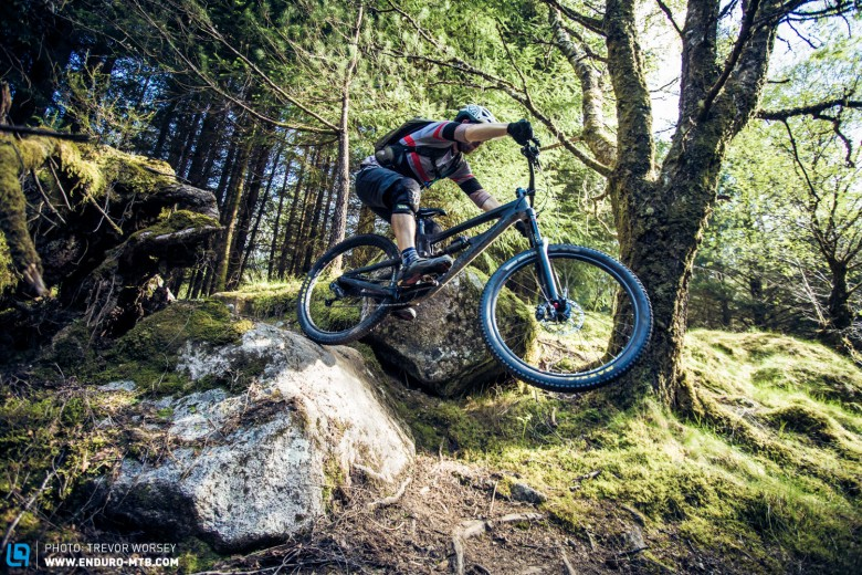 A good enduro bike should not only be fast on the track, but great fun too