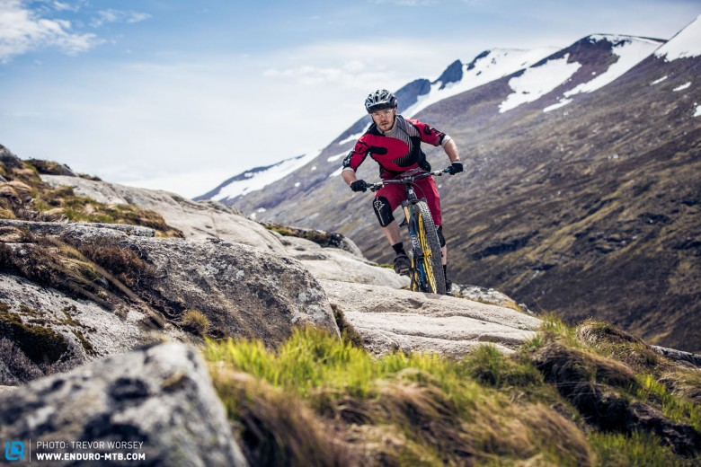 On the rocky and rugged terrain only the best bikes impressed us
