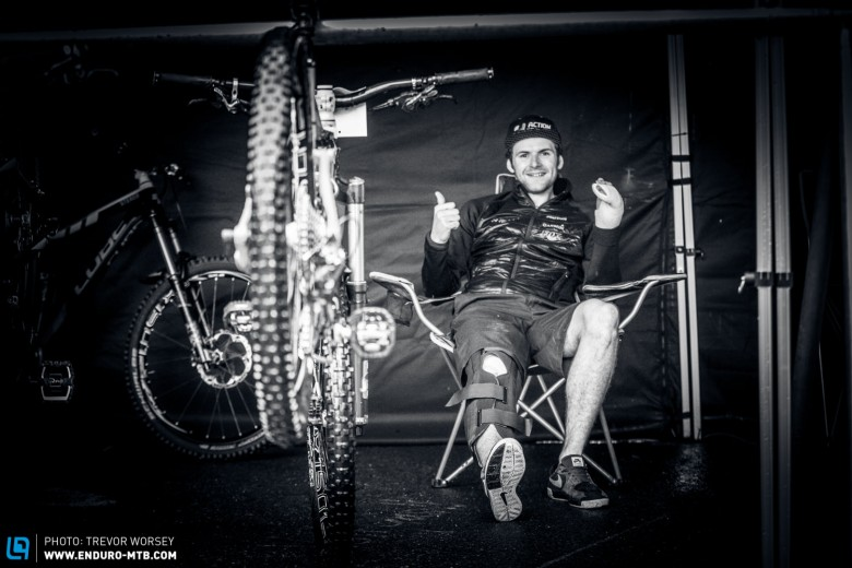 Greg was forced to sit out the European Enduro Series European Champs