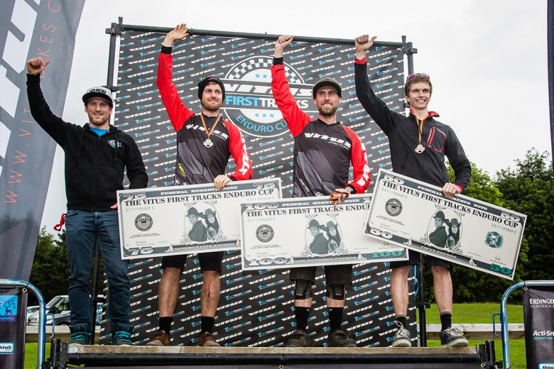 Colin Ross, Daniel Wolfe and Nathan McComb took the top three for the Pro Men.