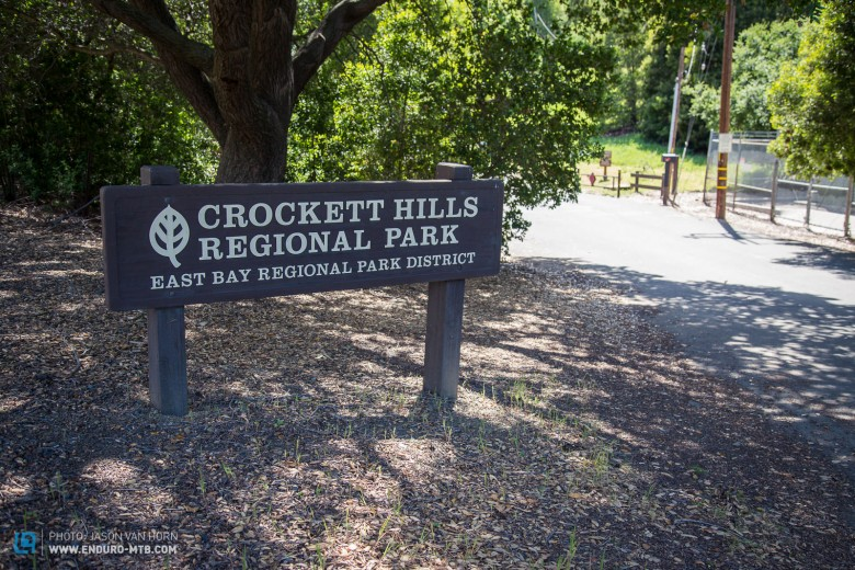 Crockett Hills Regional Park covers a staggering 1,931 acres...
