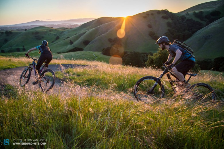 """Depending on your route, rides range from 14-20 miles. We often skip the initial XC section of trail, start at the midway point, and do multiple loops on the flow country style sections."""