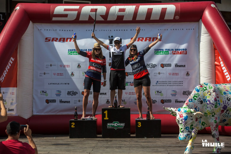 Tracy Moseley, Anita Gehring and Carolin Gehring took the top three for the Pro Women.