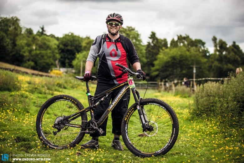 Mike Raby picked a great bike with the Nukeproof Mega