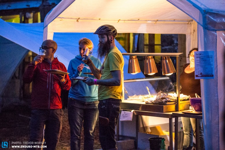 Good food and good banter, MTB festivals rock