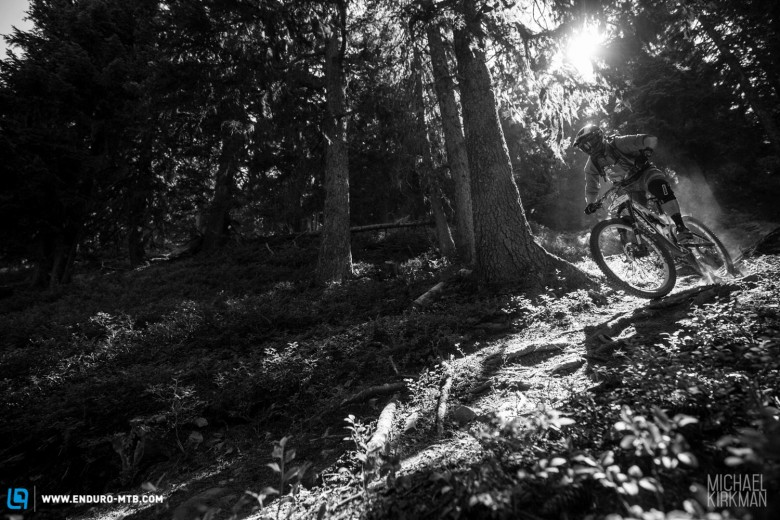 Sun and dusty single track – a perfect mix