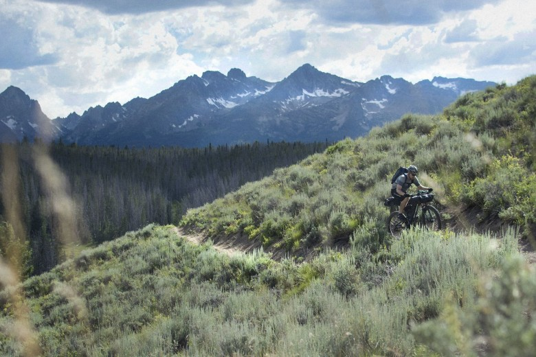 This is all that mountain bikers want to do: ride a simple trail.