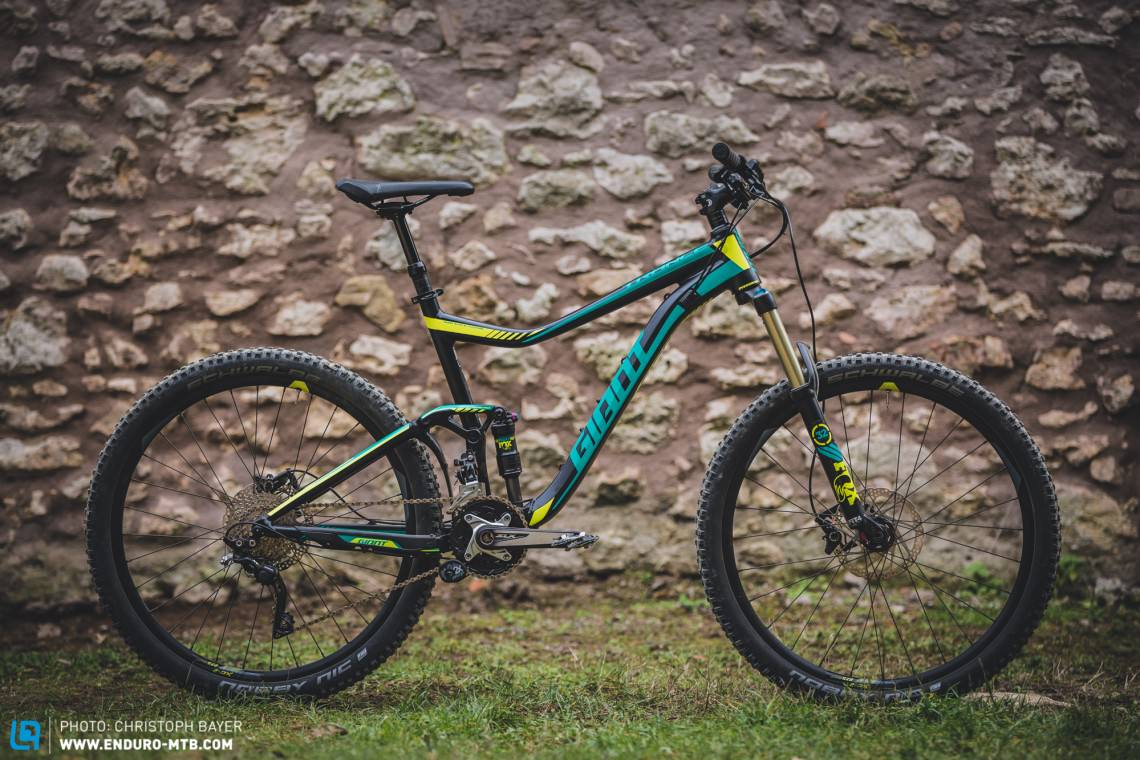 2537ce95bea Giant Trance 2 LTD | Travel 140 mm | Price € 2,299 | Weight 13.51 kg