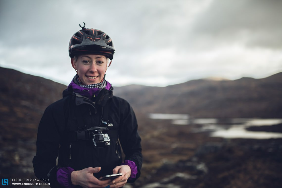 We would like to thank our guide Eilidh Wells for showing us the trails.