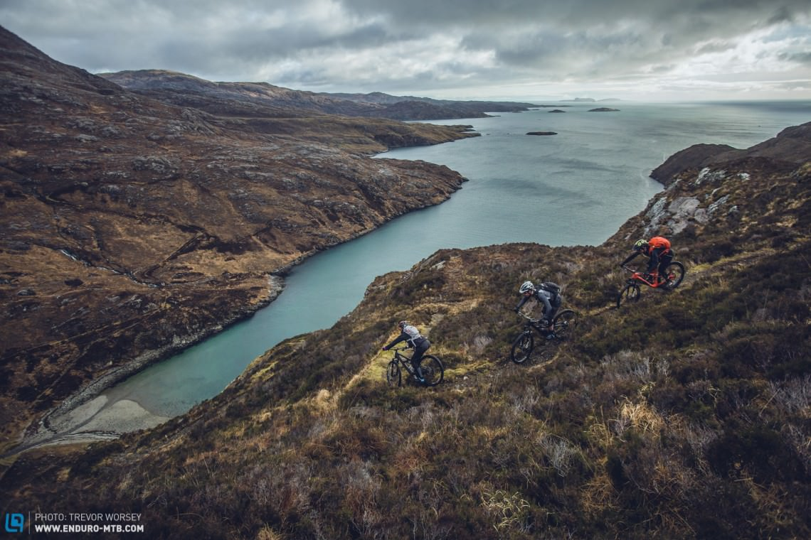 Harris, Scotland's best kept secret, is one of the most beautiful places to ride.