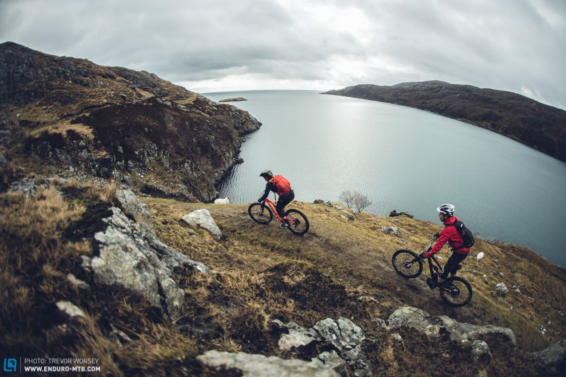 There are many trails to explore on Harris, an adventurer's paradise.