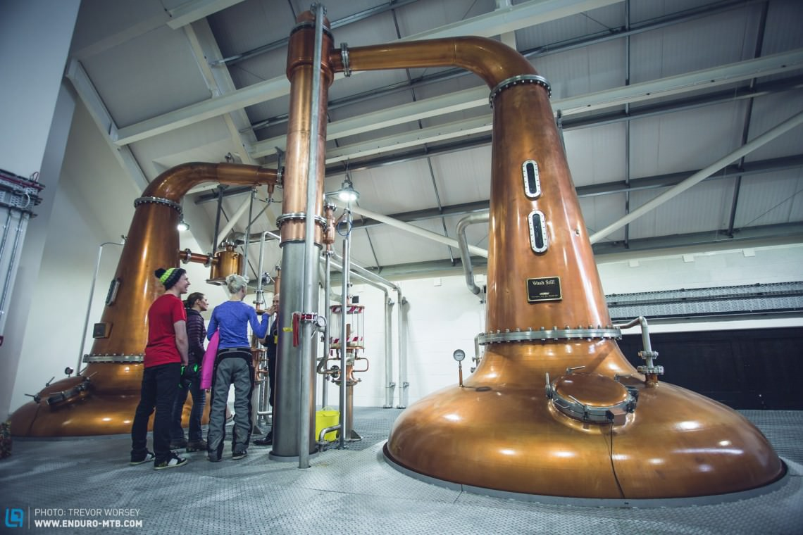 The Harris Distillery is well worth a visit to learn how Scotland's finest Whisky is made.