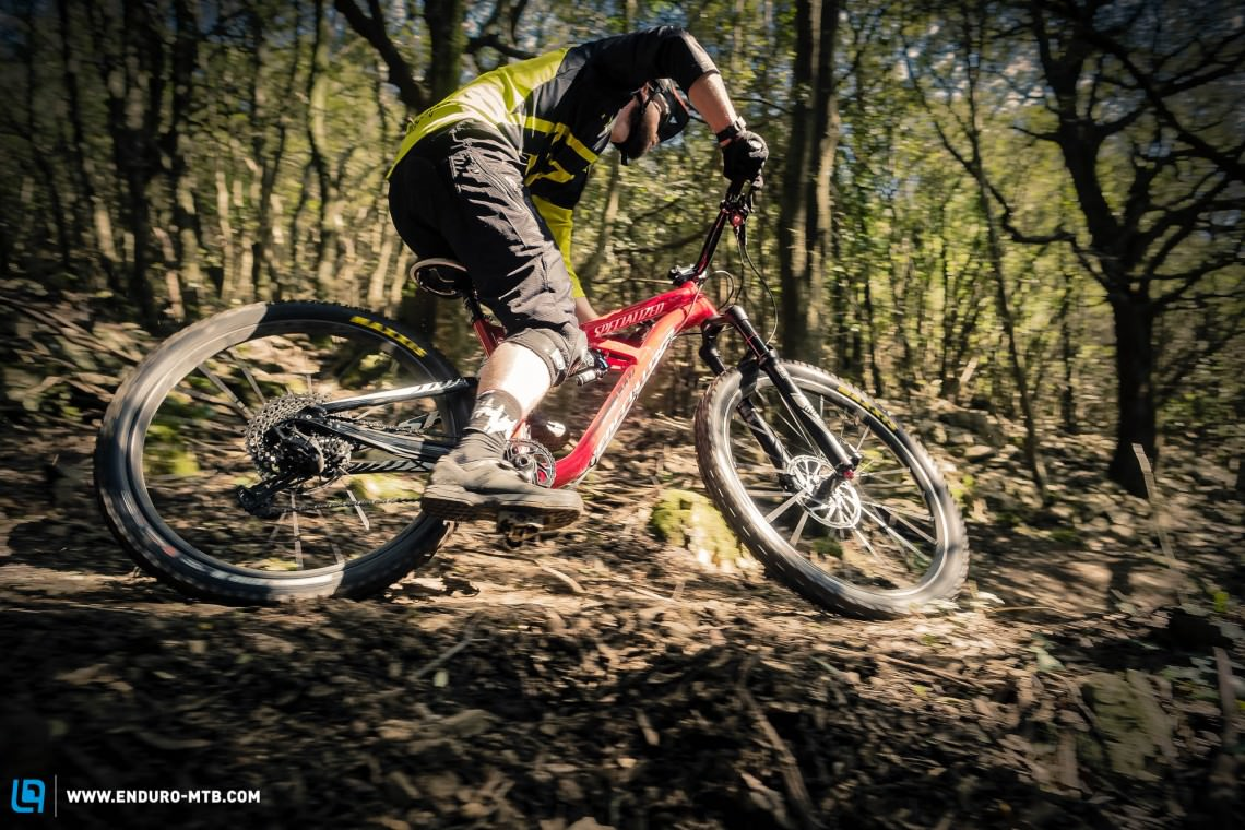 We spent some days in Tuscany thrashing the new SRAM Eagle drivetrain to see if it could fly!