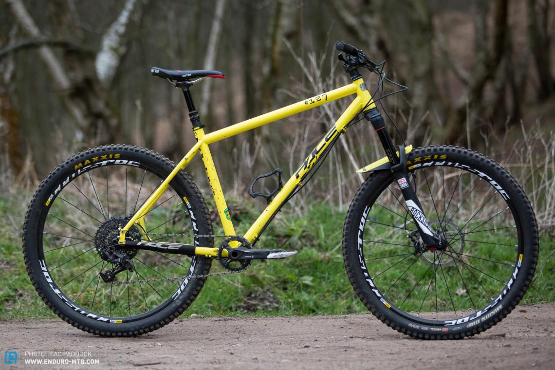 Pace RC127 Review - a British steel hardtail | ENDURO Mountainbike ...