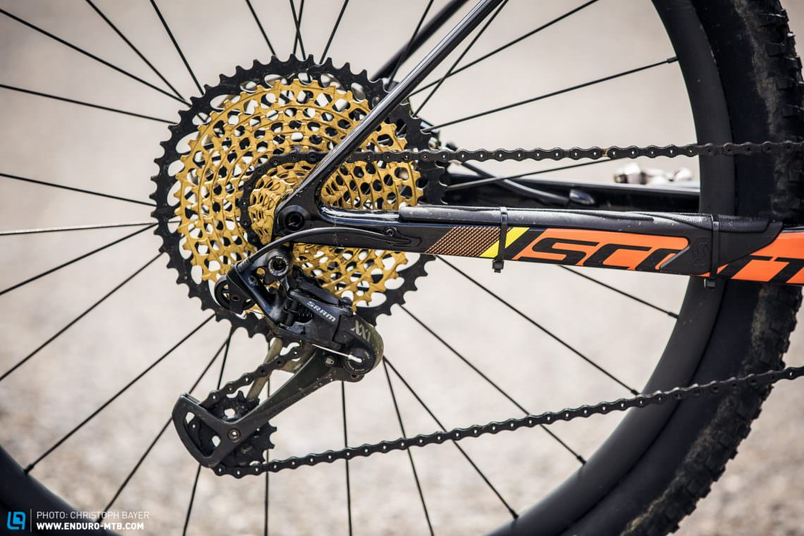 f4ffee53139 The eagle has landed: For their new bikes SCOTT have reached for SRAM's new  12
