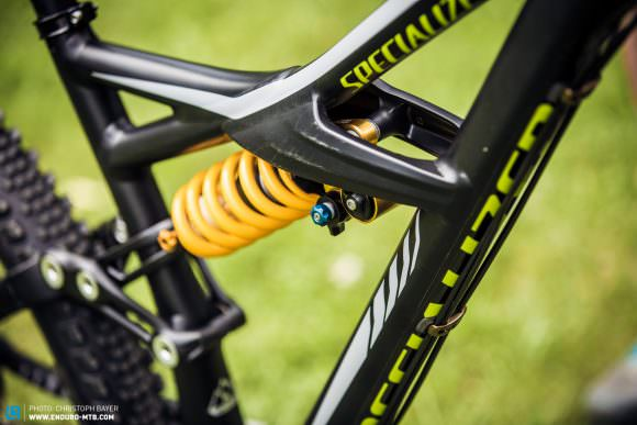 Industry Bike Check: Sebastian Maag's Specialized Enduro EVO