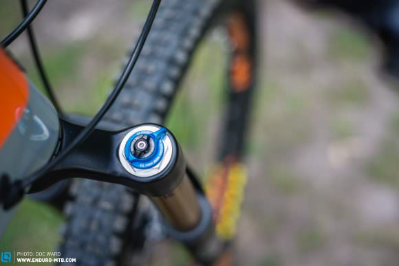 The Fox Factory 34 Float forks sport some of the best adjustment controls on the market.