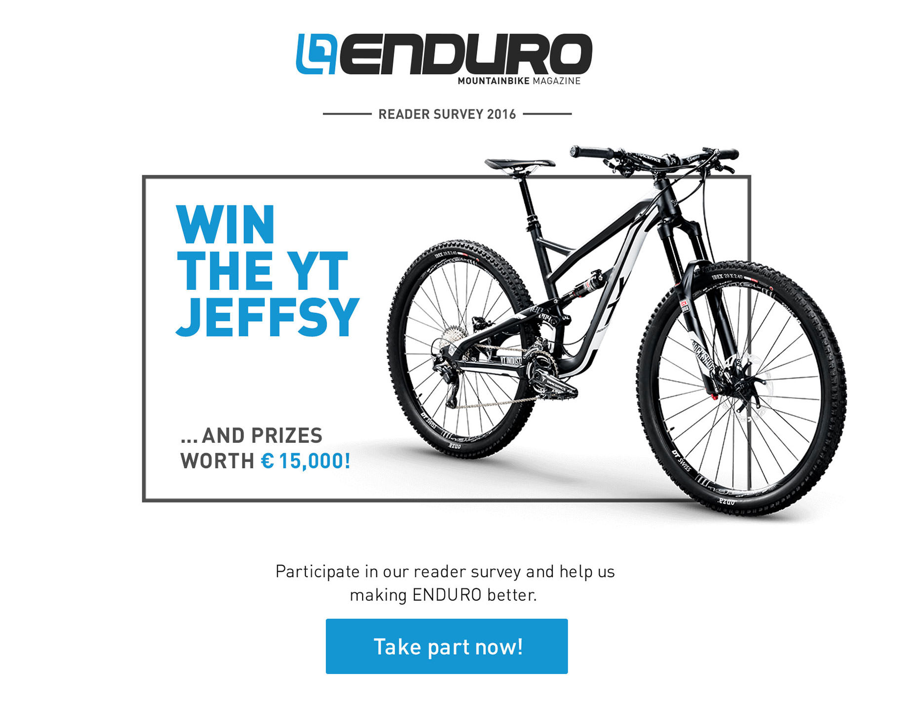 ENDURO Reader Survey 2016: Win €15,000 in Prizes | ENDURO ...
