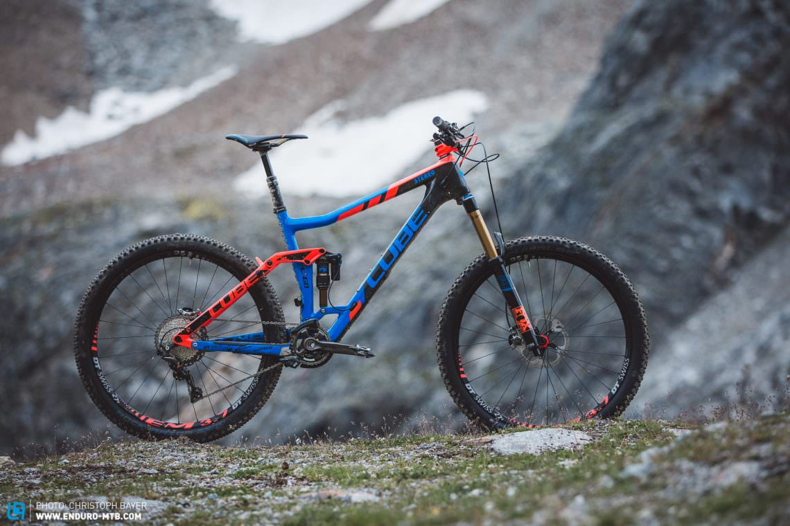 41e38840a24 CUBE Stereo 160 C:68 Action Team 27.5 review | ENDURO Mountainbike ...