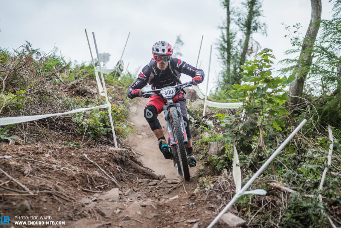 Try as Jim could, he managed to win one stage, but fellow Shropshire racer Andrew Titley showed his skills and power to take the Veterans win in style!