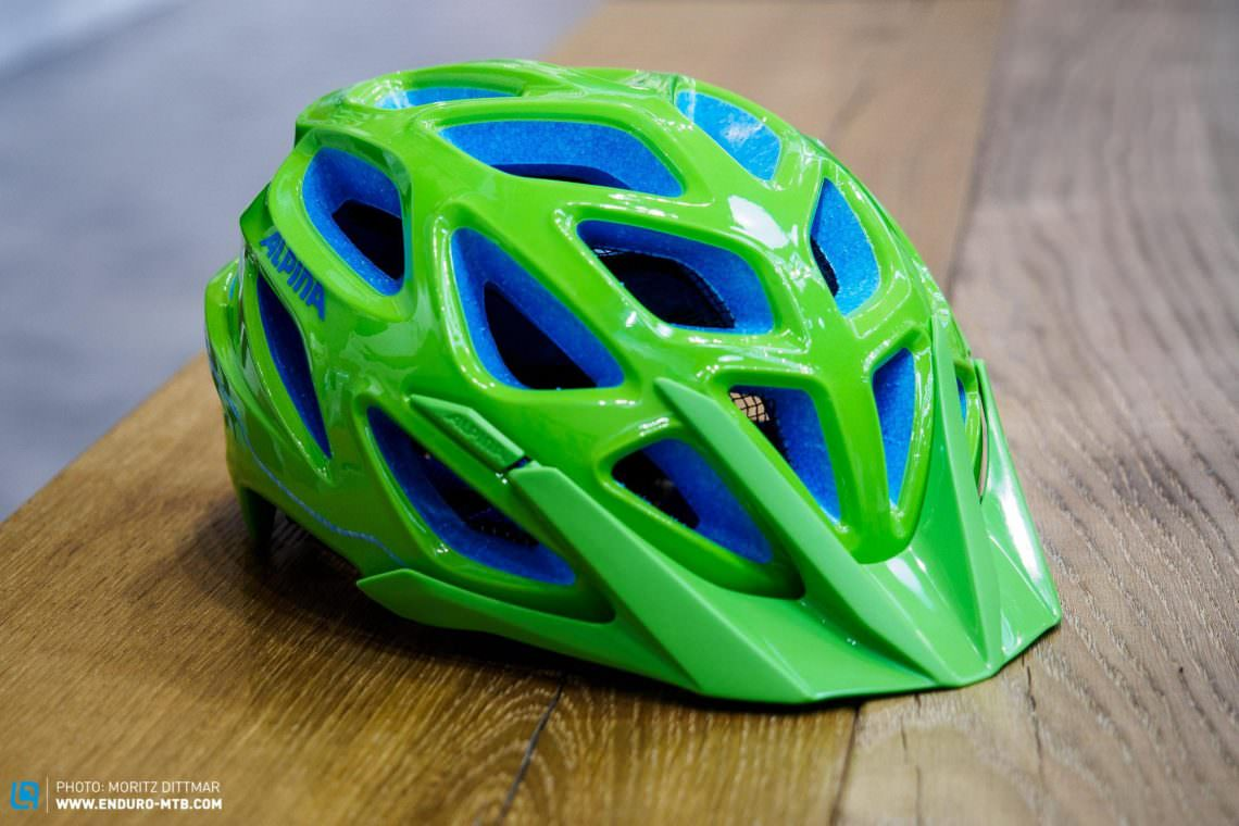 The Fanciest New Helmets From Eurobike ENDURO Mountainbike - Alpina helmets