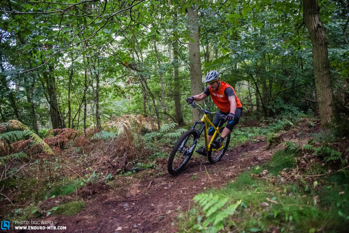 Stif Cycles Morf Review – long, low, slack steel hardtail