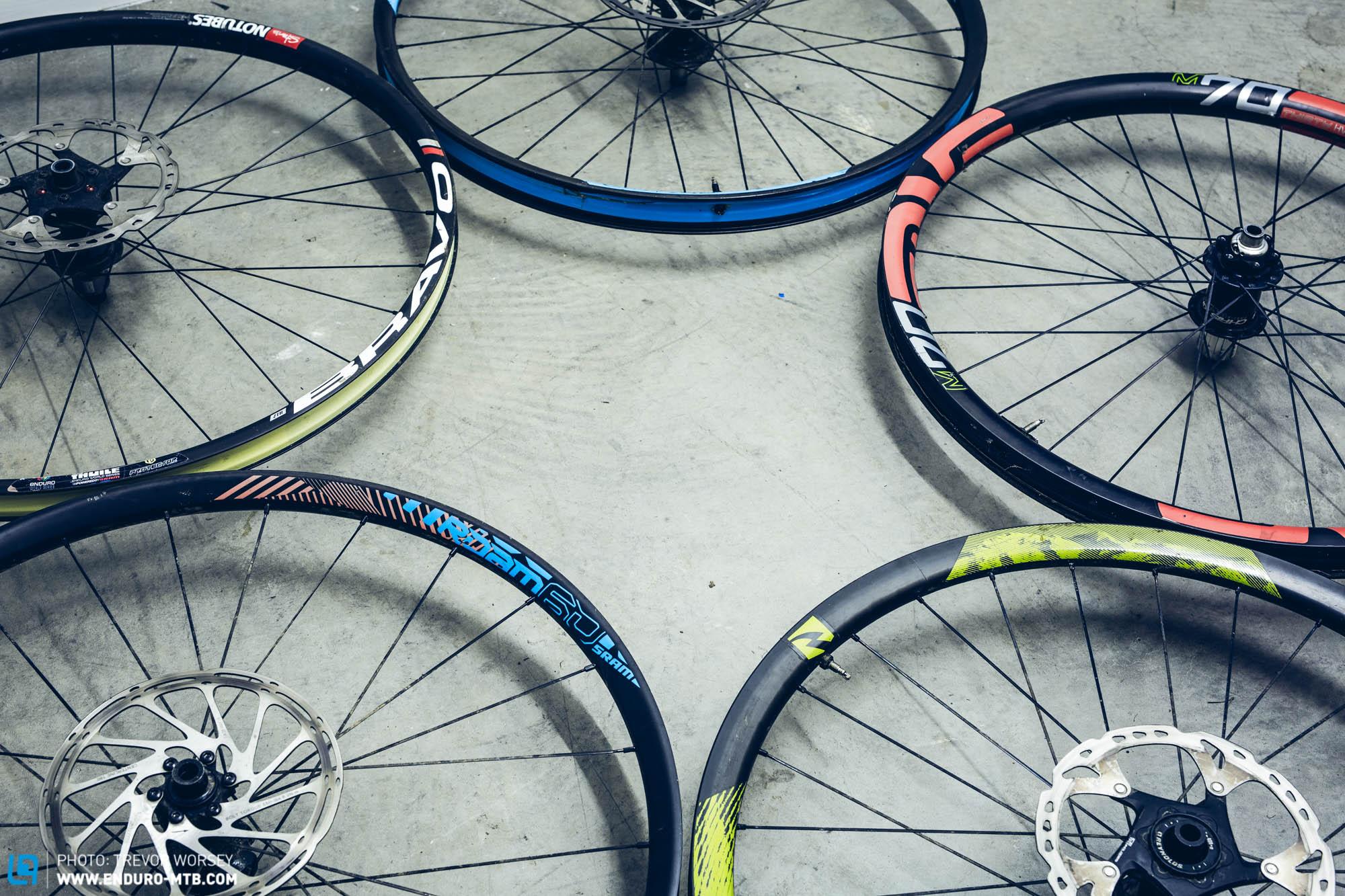 High Rollin 5 Premium Carbon Wheels In Test Enduro
