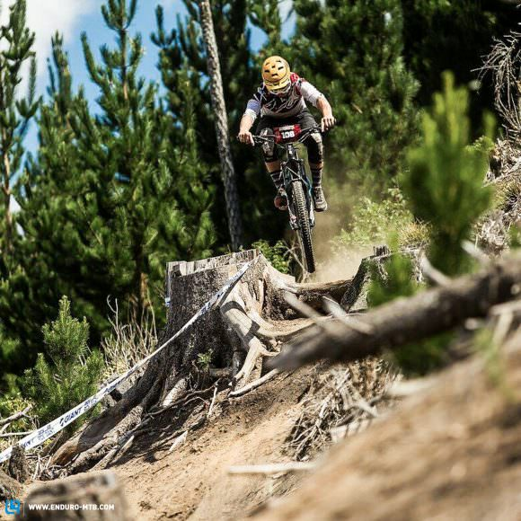 The BMC performed well during hardcore races like the Crankworx Toa Enduro. (Although we reckon its bigger brother, the BMC Trailfox 29, would snatch those crucial seconds for the win.)