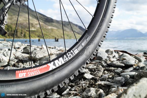 Will the 30 mm-wide DT Swiss XM481 rims generate any performance gains?