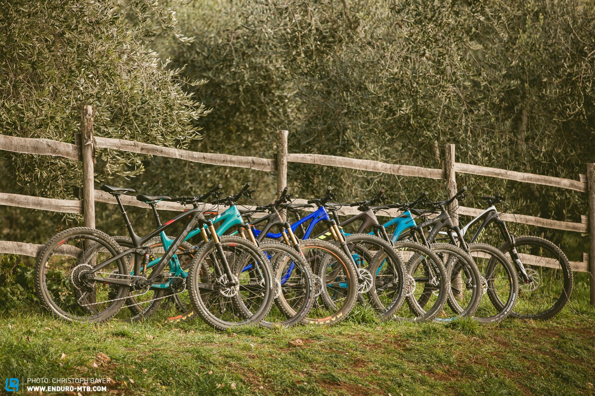 A Bike for All Situations – 9 of the most Exciting Trail Bikes of