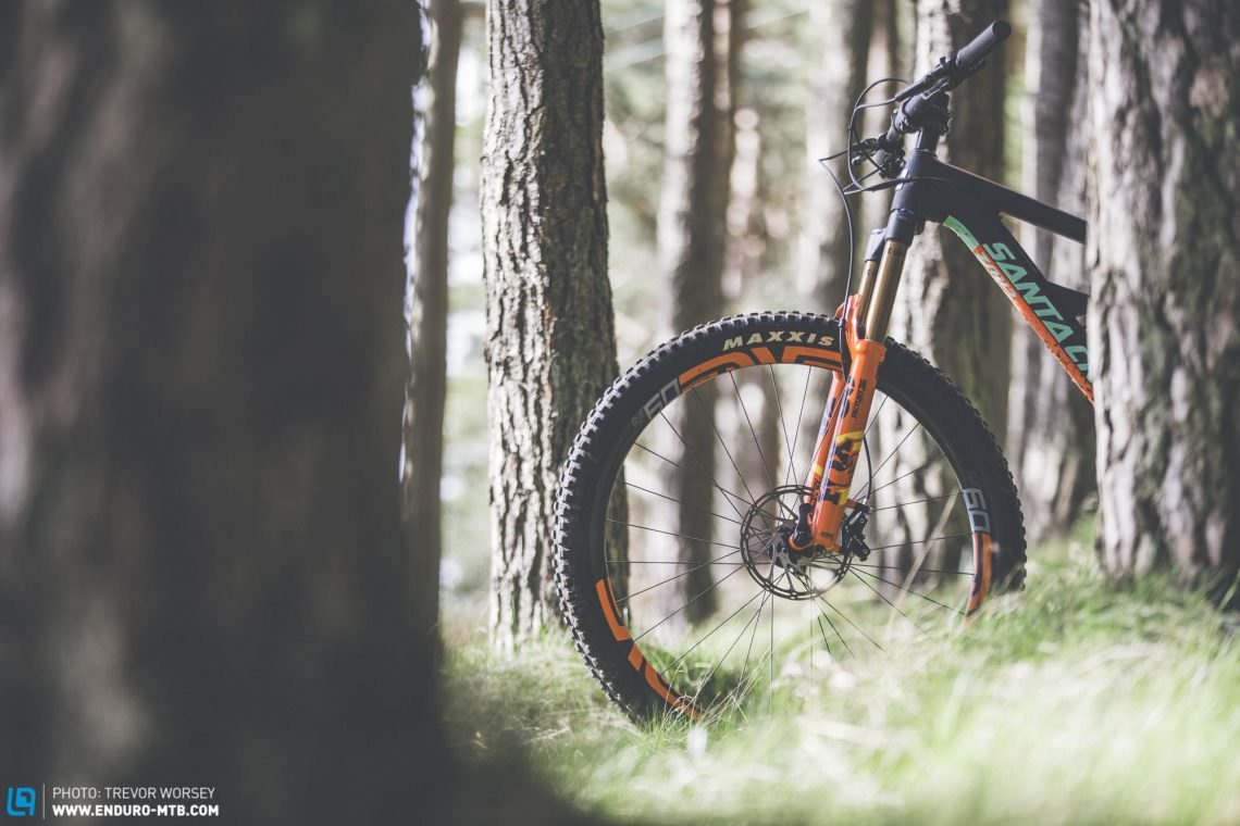 First Ride: The new 2018 FOX FLOAT 36 EVOL Fork   ENDURO