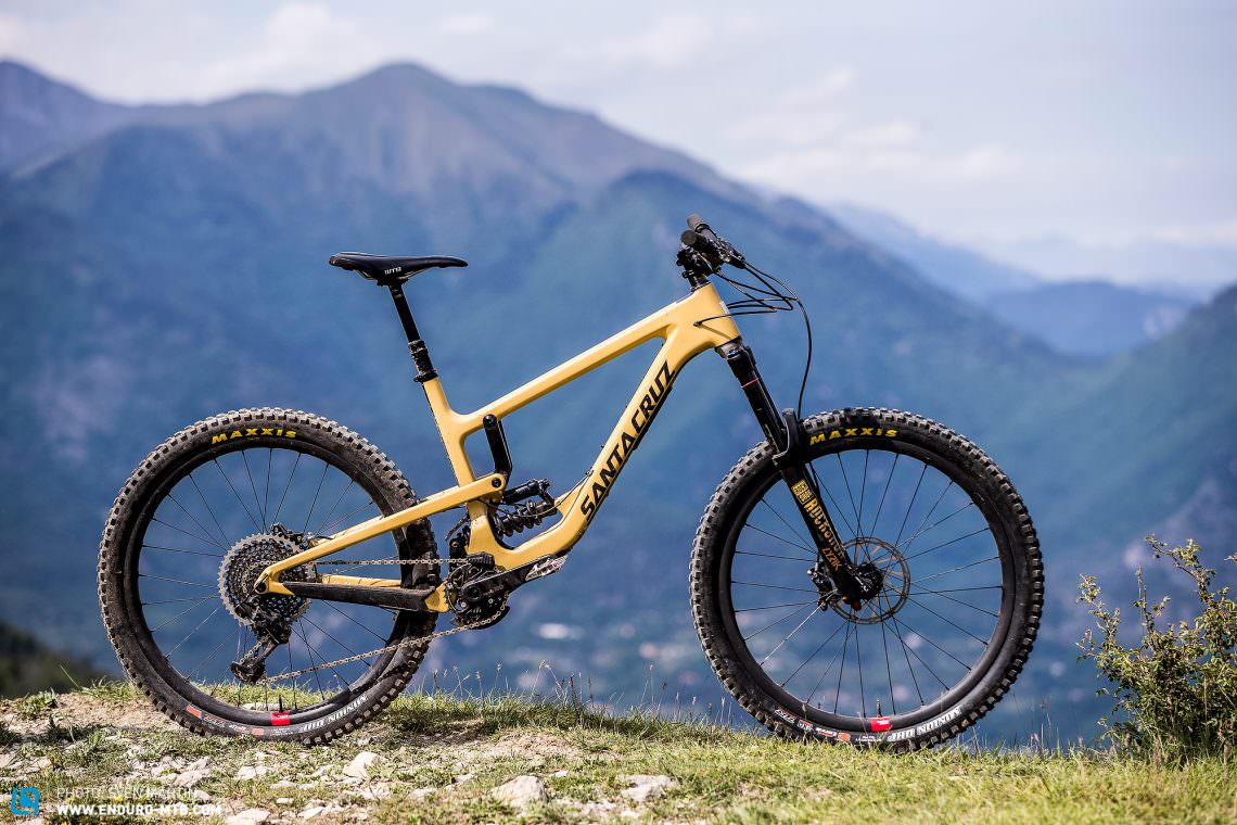 Next Level Of Sd The New Santa Cruz Nomad 4 With 170 Mm Travel Is A Serious Weapon