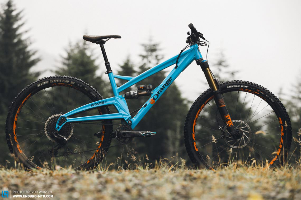 Shots Fired! Orange Stage 6 Factory Review | ENDURO Mountainbike ...