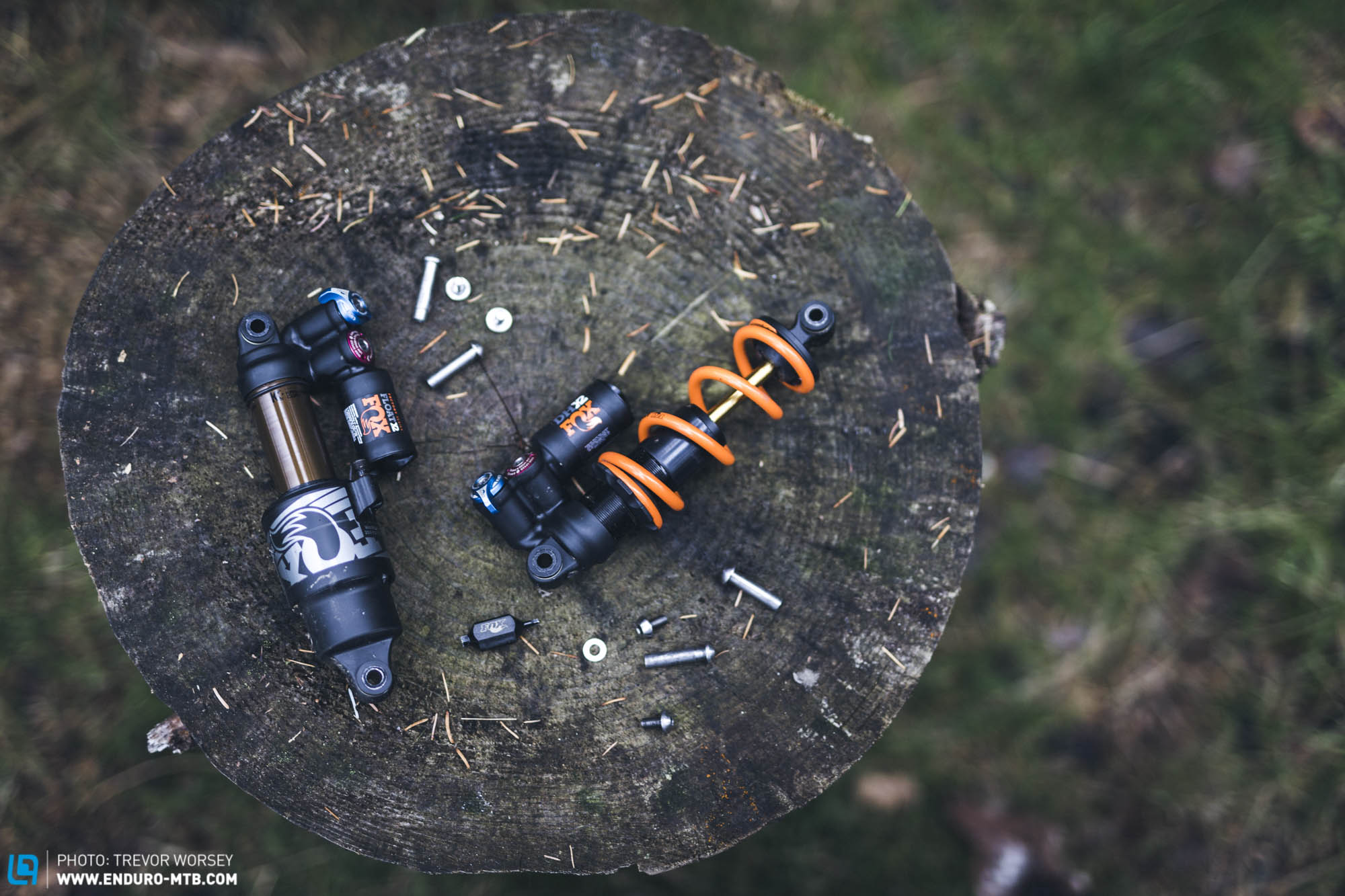 Clash of the Titans: Air versus Coil Shock | ENDURO