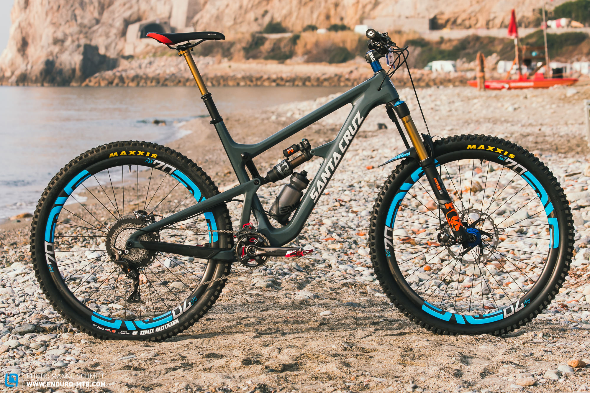 Pro Bike Check: Greg Minnaars Santa Cruz Hightower LT | ENDURO ...