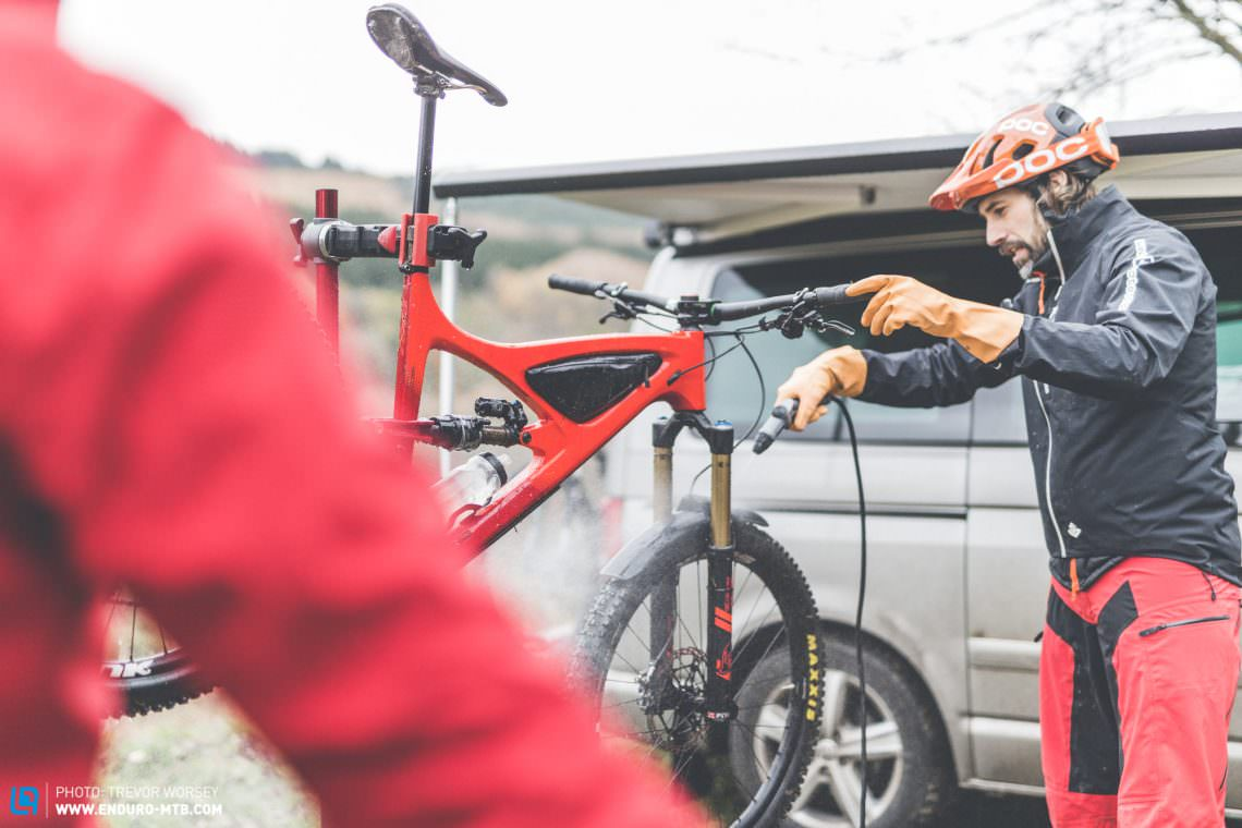 The best mobile bike washer you can buy | ENDURO Mountainbike Magazine