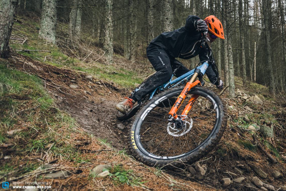 The all new FOX 36 FLOAT GRIP2 in action on the scottish trails