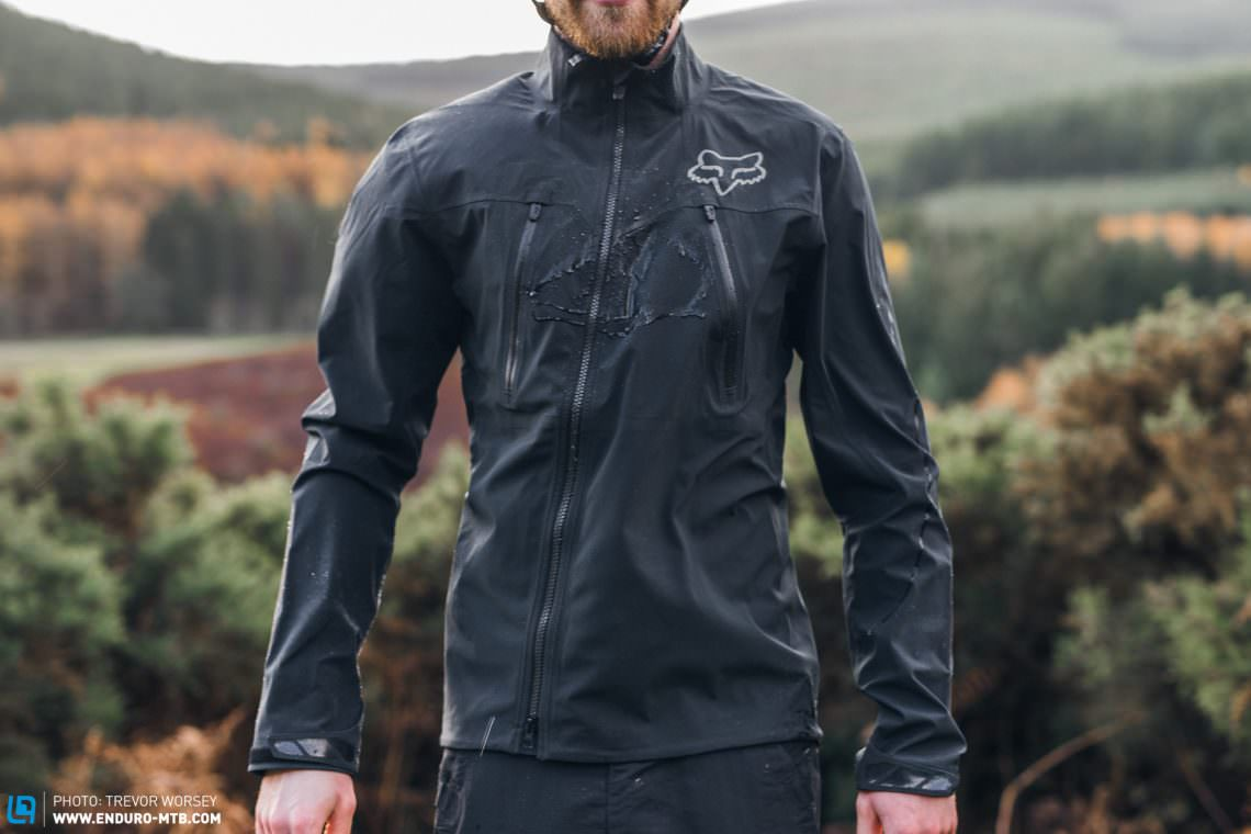 dhb trail softshell jacke