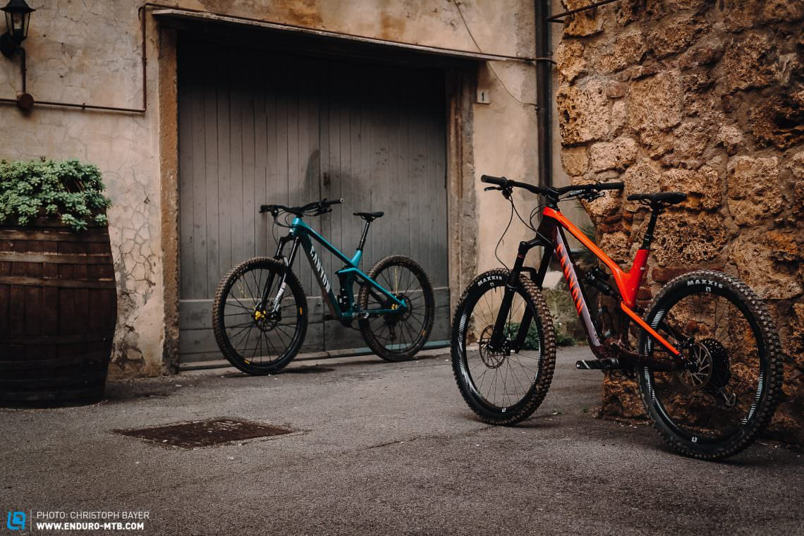 Unequal Siblings: Canyon Spectral CF vs  Canyon Strive CF in
